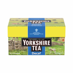 Taylors of Harrogate Yorkshire Tea Decaf 40 Bags 125g