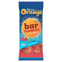 Terry's Limited Edition Chocolate Orange Bar Cranberry Milk 90g
