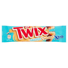 Twix Xtra Salted Caramel Chocolate Biscuit Twin Bars 75g