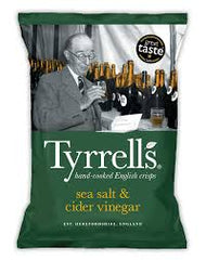 Tyrrell's Sea Salt & Cider Vinegar 40g
