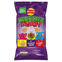 Walkers Monster Munch Variety 12 Pack 22g