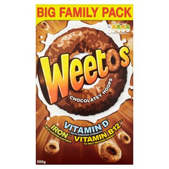 W***tabix Weetos Chocolate Hoops Cereal 500g