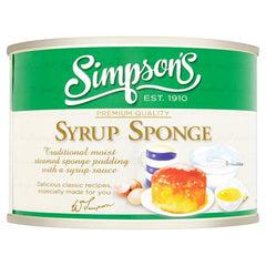 Simpson's Syrup Sponge Pudding