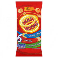 Hula Hoops Variety 6PK Best Before : 05.10.2019