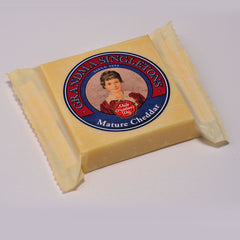 Singletons Mature White Cheddar Cheese