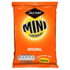 Jacob's Mini Cheddars Original Best Before : 10.08.2019