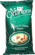 O'Hanlons Cheese & Onion 155g