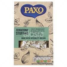 Paxo - Sensational Stuffing Mint, Rosemary & Shallot With Farmhouse Breadcrumbs