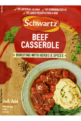 Schwartz Recipe Mix - Beef Casserole