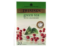 Twinings Cranberry Green Tea