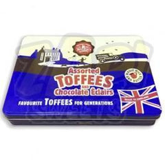 Walker's Nonsuch Assorted Toffees & Chocolate Eclairs Tin 700g