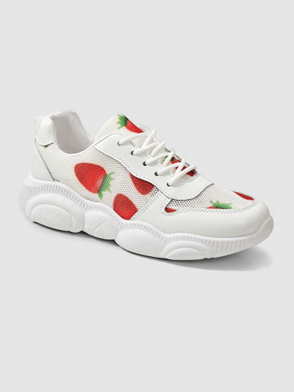 2019 New Bear Sole Strawberry Sports Shoes