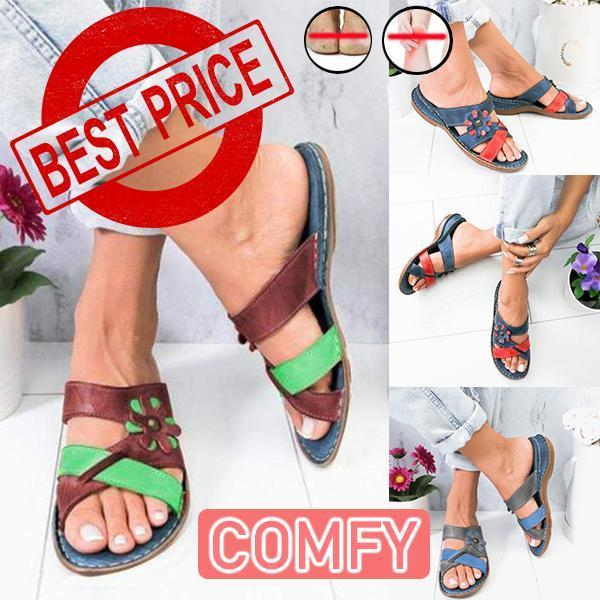 Women's Summer Floral Herbal Anti-mosquito Sandals
