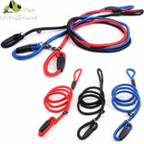 ULTRASOUND PET Dog Solid Nylon Lead Leash Control Restraint Cat Puppy Dog Lead Leash Soft Walk For Small Dogs Red Black Blue