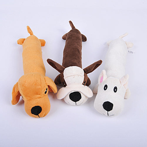 1PC Dog Accessories Dogs Puppy Toys Cartoon Animals Squeak Squeaker Screaming Chicken Toy Training Pet Products Chew