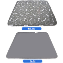 Load image into Gallery viewer, Waterproof Reusable Dog Bed Mats Dog Urine Pad Puppy Pee Fast Absorbing Pad Rug for Pet Training USA Stock