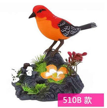 Load image into Gallery viewer, Pet Bird Toy Talking Bird Family Pet Bird Pet Bird Cage Electric Voice Control for Children's Birthday Gifts