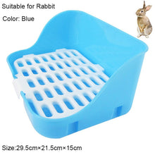 Load image into Gallery viewer, Hamster Pet Cat Rabbit Corner Toilet Litter Trays Clean Indoor Pet Litter Training Tray  For Small Animal Pets