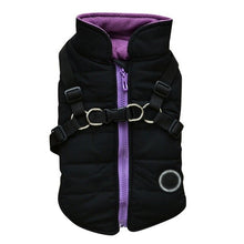 Load image into Gallery viewer, Waterproof Pet Dog Pup Vest With Harness Jacket Chihuahua Clothing Warm Winter Dog Clothes Coat For Small Medium Large Dogs