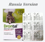 Drontal Plus Allwormer for All Size Dogs and Puppies - Dog Worming Puppy Wormer