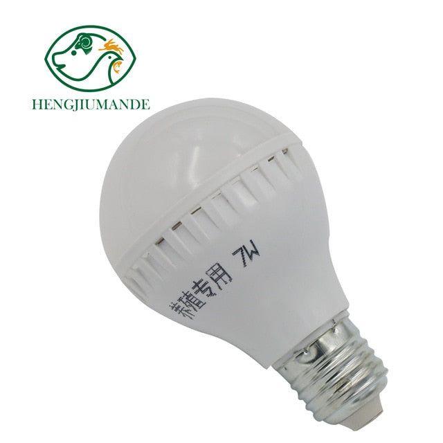1Pc Special LED Light Bulb Energy Saving Lamp Chicken House Lighting Snail E27 Energy Saving Lamp To Improve Egg Production Rate