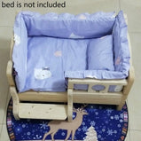 Soft Pet Quilt Washable Thicken Winter Dog Cat Bed Mat Warm Sleeping Mattress Small Medium Dogs Cats Cotton Pet Dog Product