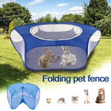 Load image into Gallery viewer, Pet Playpen Open Indoor Outdoor Small Animal Cage Game Playground Fence for Hamster Chinchillas Guinea Pigs Supplies