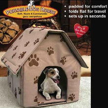 Load image into Gallery viewer, Pet House For Dog Foldable Small Footprint Pet Cozy Bed  Tent Cat Kennel Indoor Outdoor Portable Trave Nest bed домик для кошки