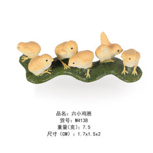 Load image into Gallery viewer, Simulation Farm Poultry Animal model Chicken Fowl Duck Goose Rooster Action figures plastic Figurines Farm series Kids Toys