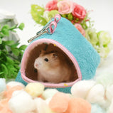 Hamster Hanging House Hammock Cotton Cage Sleeping Nest Pet Bed Rat Hamster Toys Cage Swing Small Pet Hamster Accessories
