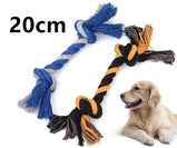 Pet Toys For Large Dog Bite Resist Interactive Cotton Bone Rope Toy Puppy Small Dog Toy Chew Knot Teeth Cleaning