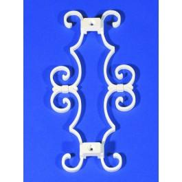"1.375"" Sq. Florale Picket Scroll - LMT-1243C"