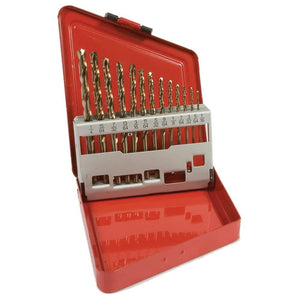 "Forney 13-Piece 8 Percent Cobalt Drill Bit Set (1/16""-1/4"" x 64ths)"