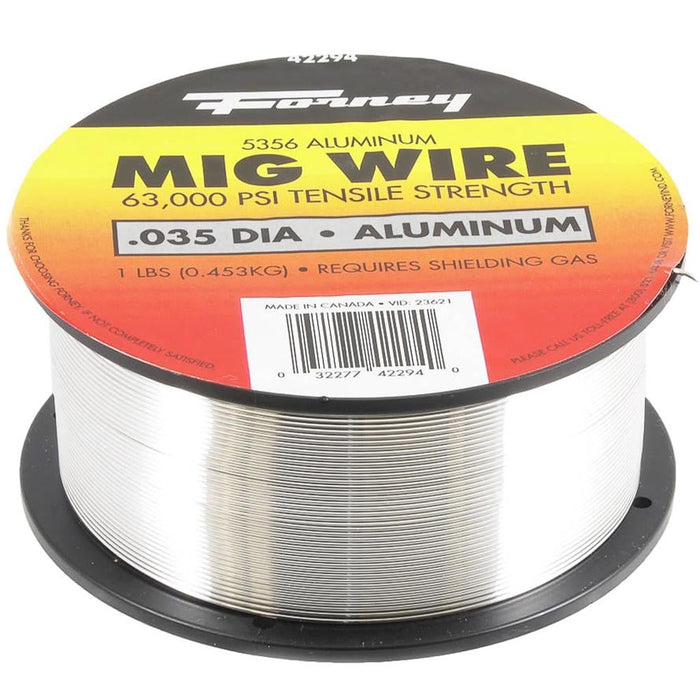 "Forney ER5356, .035"" x 1 lb., Aluminum MIG Welding Wire"