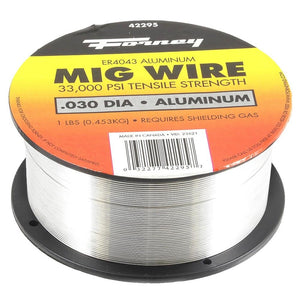 "Forney ER4043, .030"" x 1 lb., Aluminum MIG Welding Wire"