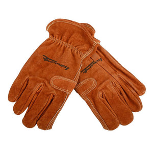 Forney Premium Cowhide Leather Fencer Work Gloves (Men's XL)