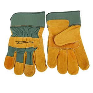 Forney Lined Premium Cowhide Leather Palm Work Gloves (Men's XL)