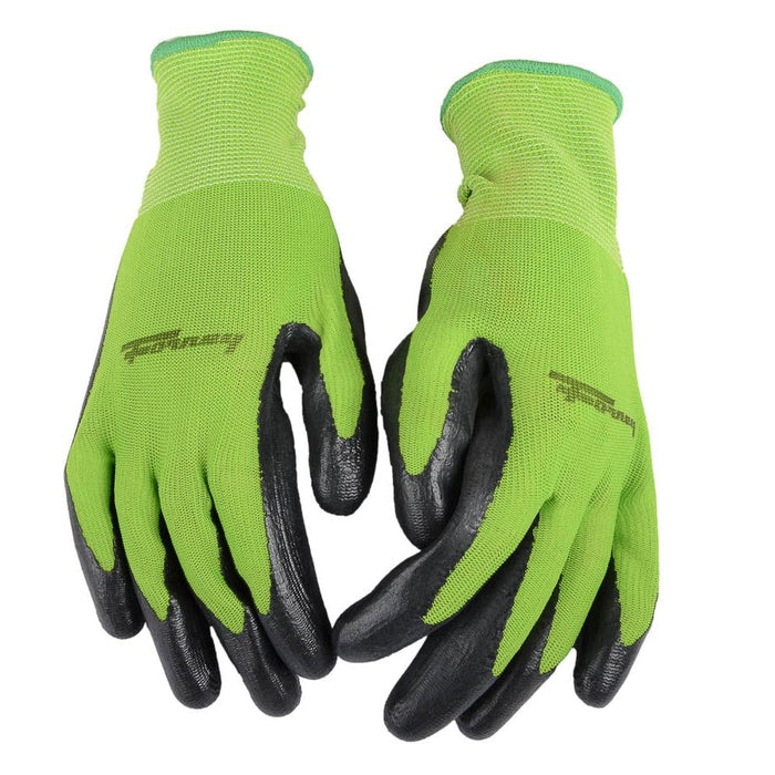 Forney Premium Nitrile Coated String Knit Gloves (Size XL)