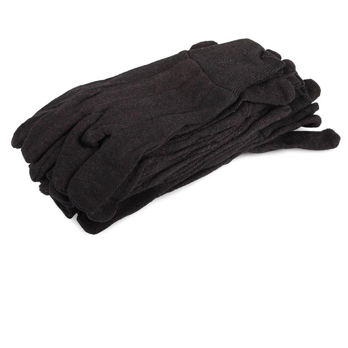 Forney Jersey Gloves, 8 oz., 6-Pack (Size L/XL)