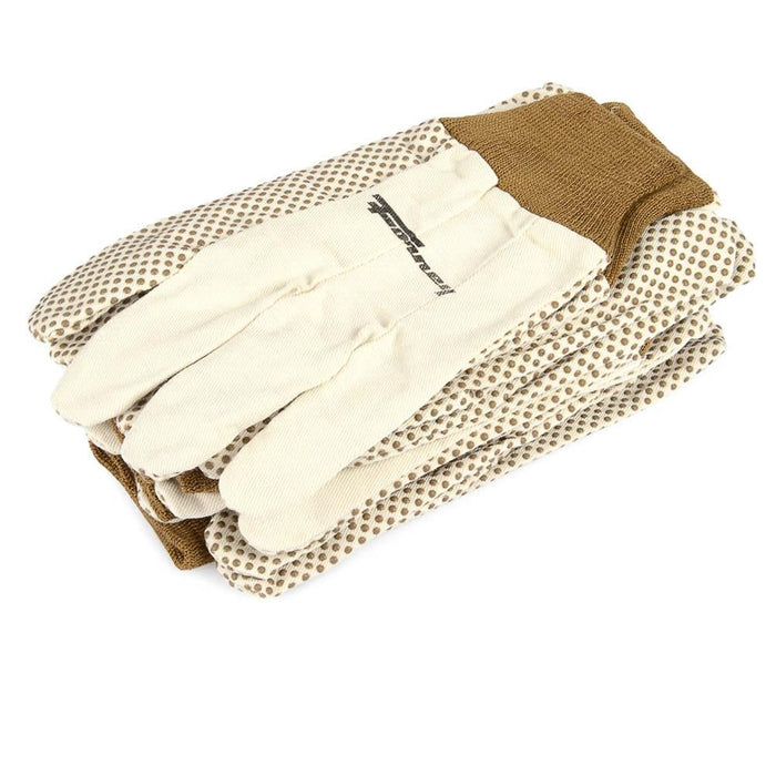 Forney Cotton Canvas Gloves, 6-Pack (Size XL)