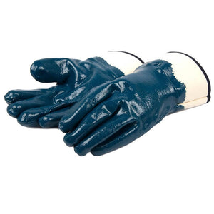 Forney Heavyweight Nitrile Coated Chemical Gloves (Size L/XL)