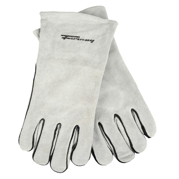 Forney Gray Leather Welding Gloves (Men's XL)