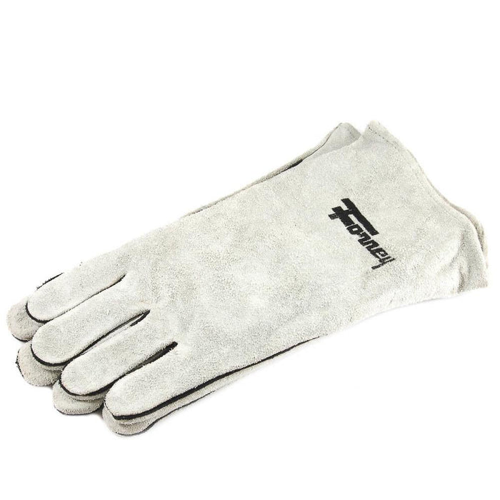 Forney Gray Leather Welding Gloves (Men's L)