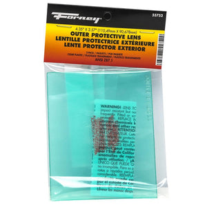 Forney Outer Lens for Advantage Series ADF Welding Helmet, 2-Pack