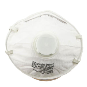 Forney N95 Respirator with Exhale Valve, 2-Pack