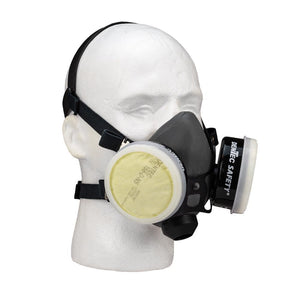 Forney Multi-Purpose Organic Vapor Dual Cartridge Half Mask Respirator