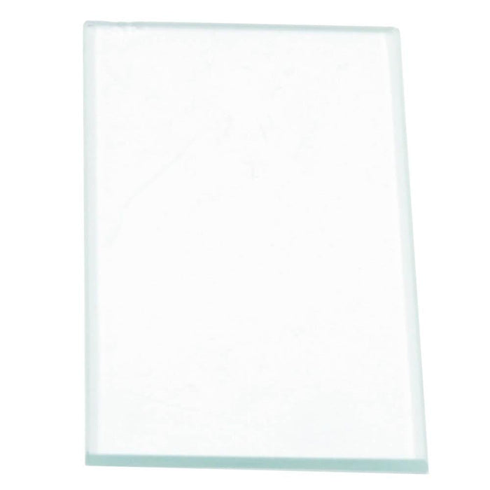 "Forney Cover Lens, 2"" x 4-1/4"", Clear Glass"