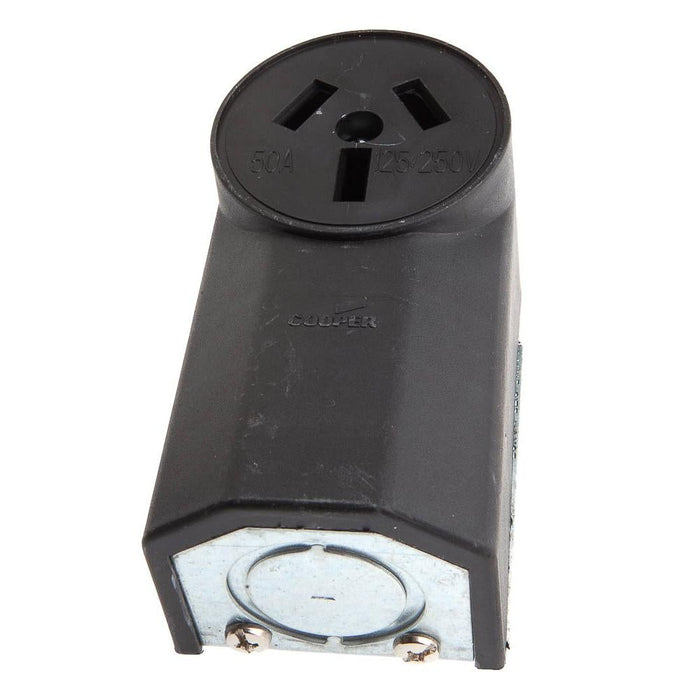 Forney Wall Receptacle with Crowfoot, 220-Volt, 50 AMP, (32535)