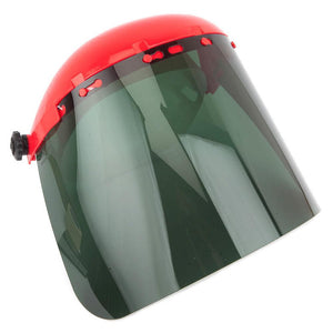 Forney Face Shield with Pin-Type Headgear, Green