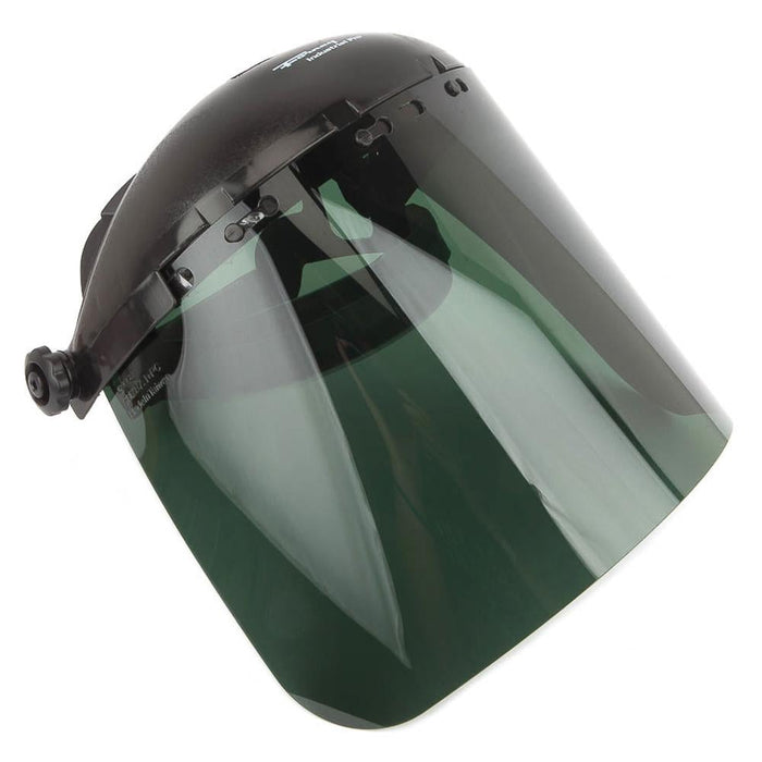 Forney Face Shield with Ratchet-Type Headgear, Green